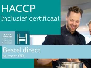 HACCPMet prijs zonder diploma SH
